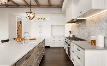 Как спланировать кухонный гарнитур